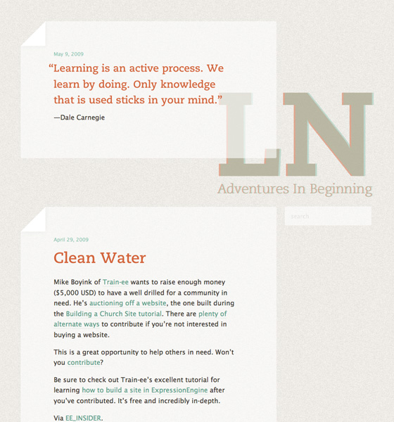 Lead Neophyte Tumblr Theme