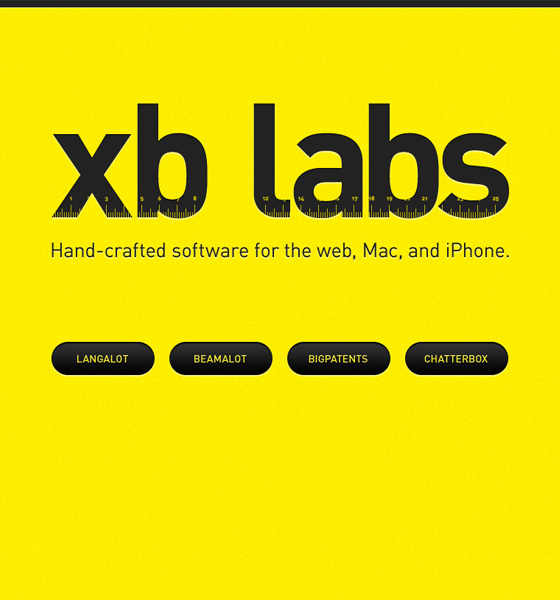 XB Labs Landing Page